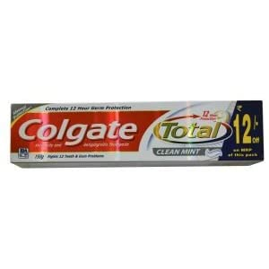 Colgate Total Clean Mint toothpaste -150gm - (Colgate )