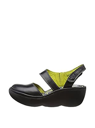 Fly London Zapatos Beau (Negro)