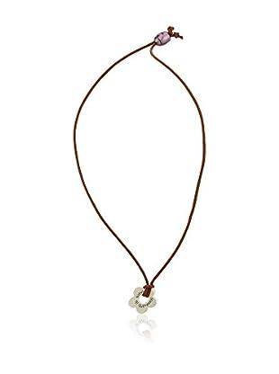 Córdoba Jewels Conjunto de cordón y colgante plata de ley 925 milésimas