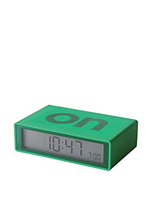 Lexon Flip Clock, Green