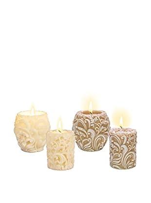 Volcanica Set of 4 Highborn Candles
