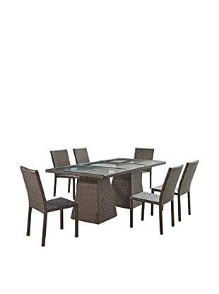 Ceets Jacob 7-Piece Dining Set, Black