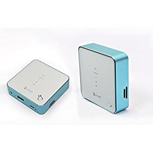 Irvine 5200mAh 3G WIFI/MIFI + Portable CHARGER WITH DATA CABLE + Wifi Lan Adapter