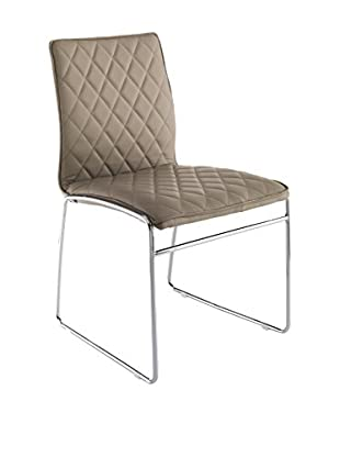 Contemporary Office Set Silla 4 Uds. Mesh Taupe