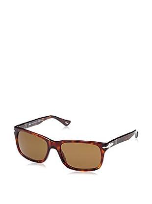 ZZ-Persol Gafas de Sol Polarized 0PO3048S 58 24/57 (58 mm) Havana