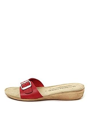 La Comoda Sandalias Mariana (Rojo)
