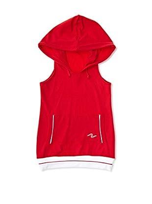 Naffta Camiseta Niña (Rojo / Blanco)