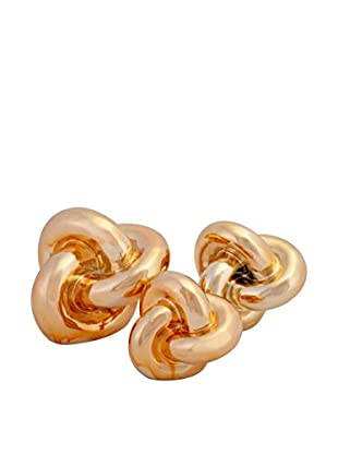 Set of 3 Nikki Chu Metallic Knots