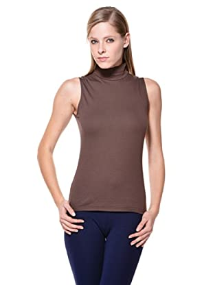 Cotonella Camiseta SM Cuello Alto (Chocolate)