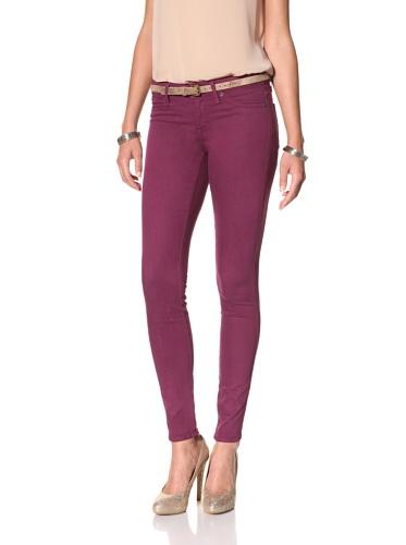 Rich & Skinny Women's Skinny Jean (Magenta)