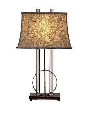 Bassett Mirror Co. Whythe Table Lamp, Crystal/Metal