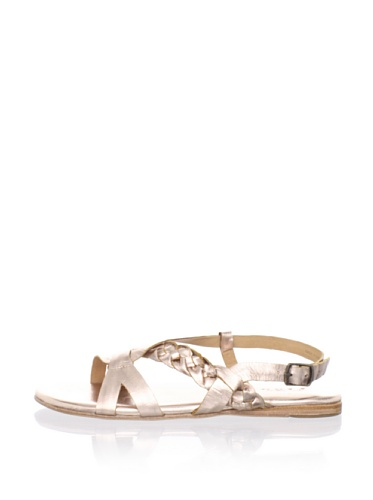 Fiel Women's Cedros Braided Sandal (Rose Gold)