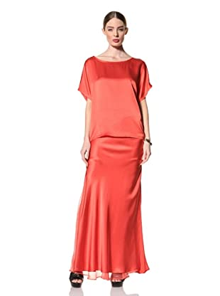 +Beryll Women's Maxi Skirt (Coral)