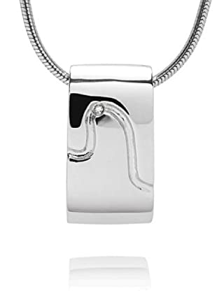Secret Diamonds 60250144 - Collar de mujer de plata de ley con 1 diamante
