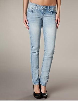 LTB Jeans Aspen Slim Fit Straight Leg Mid Rise (Hellblau)