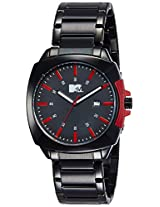 MTV Analog Black Dial Men's Watch - B7021RE
