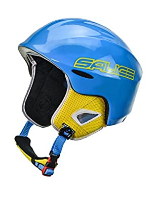 Salice Casco Kid Azul / Amarillo