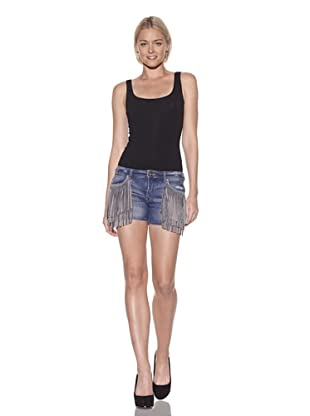 PRPS Women's Fringe Shorts (Light Vintage)