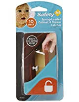 Safety 1st 10 Pack Spring n Release Latches