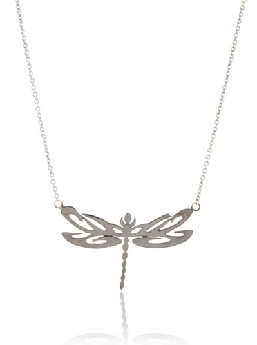 Catherine Angiel Dragonfly Pendant Necklace