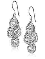 "Anna Beck Designs ""Gili"" Mini Chandelier Sterling Silver Earrings"