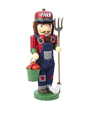 Kurt Adler Wooden Farmer Nutcracker