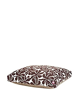Plantation Small Rectangle Pet Bed, Chocolate
