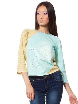 Custo Camiseta Pao (Multicolor)