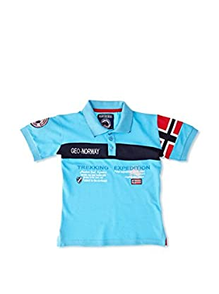 Geographical Norway Polo Karaft Ss Boy 100 (Turquesa)