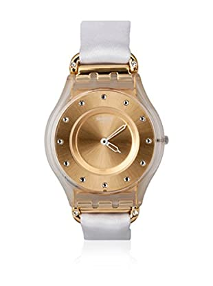 Swatch Quarzuhr Woman WHITE SILK SFK374G 34.0 mm