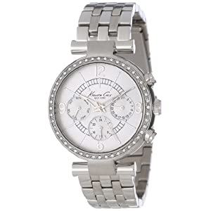 Kenneth Cole Analog Silver Dial Women's Watch IKC4872