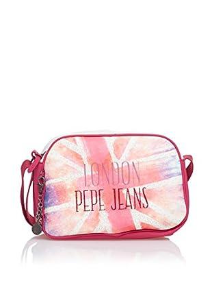 Pepe Jeans Bandolera Union Rosa / Blanco