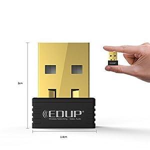 EDUP Mini Wireless N 11n Wi-Fi Nano USB Adapter