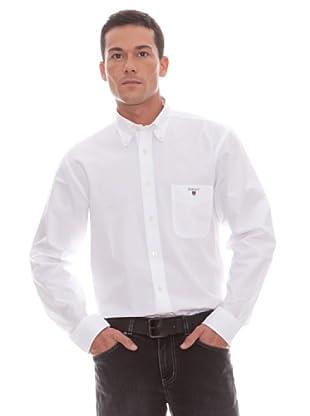 Gant Camisa Lisa (blanco)