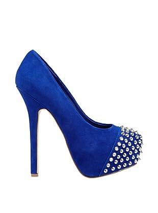 Steve Madden Zapatos Tacón Boldd (Azul)