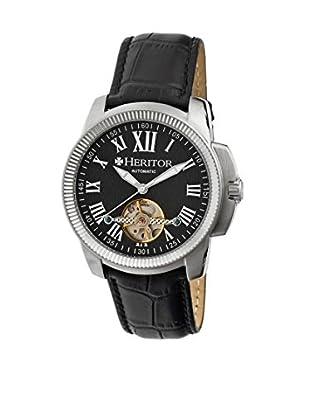 Heritor Automatic Uhr Franklin Herhr2902 schwarz 46  mm