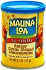 Hawaiian Value Pack Mauna Loa Macadamia Nuts Butter Candy Glaze 6 Cans Bonus Hawaiian Tropical Tea