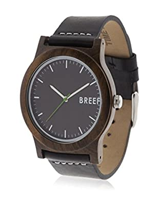Breef Watches Reloj con movimiento japonés Unisex Ebano Original Negro 40 x 11 mm