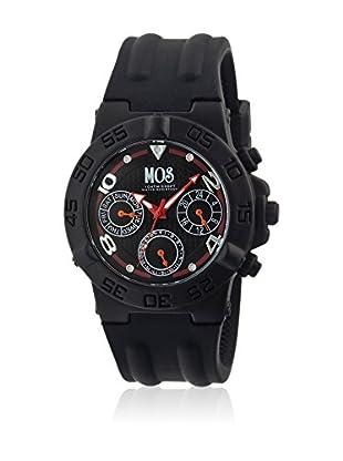 Mos Reloj con movimiento cuarzo japonés Mosam101 Negro 44  mm