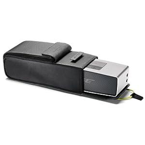 Bose SoundLink Mini Bluetooth Speaker Upto 30 ft Wireless Range Silver - Bundle - with Bose SoundLink Mini Bluetooth Speaker Travel Bag