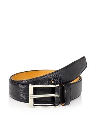 Leone Braconi Men's Minipaglia Belt (Black)