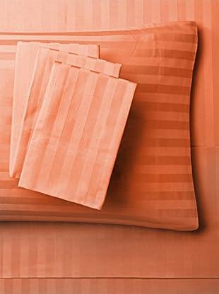 Westport Linens Damask Stripe Sheet Set