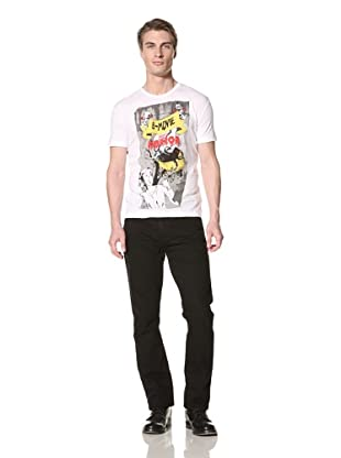 Antony Morato Men's B-Movie Graphic Tee (White)