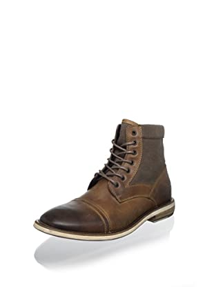 Kenneth Cole REACTION Men's Craft Master Lace-Up Boot (Tan)