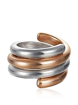Esprit Steel Ring Swiveled Bicolor