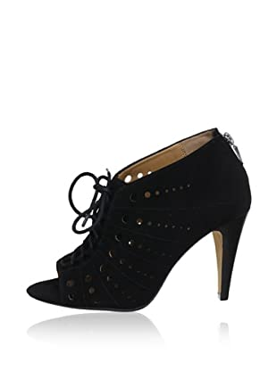 Clarks Peep Toes Curtain Tails (Negro)