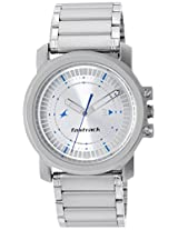 Fastrack Upgrades Analog Silver Dial Men's Watch - NE3039SM03