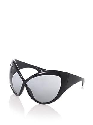 Tom Ford Women's Daphne FT0219 Sunglasses (Black)