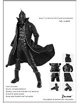 1/6 Black Dark Tool Equipment Uniform Full Set Cc224