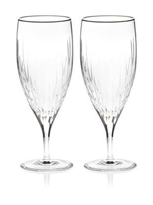 Miller Rogaska by Reed & Barton Set of 2 Soho Iced Tea Glasses